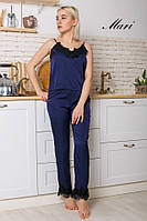 Шелковая женская пижама 62- 699/1, фото 1
