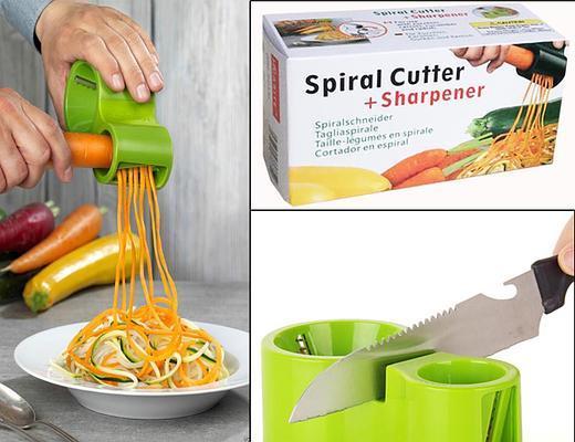 Спиральный нож для нарезки овощей