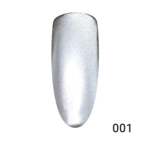 Втирка для ногтей Global Fashion, серебро, Magic Powder