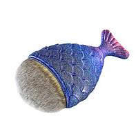 Кисть для тональной основы  рыбка-синяя