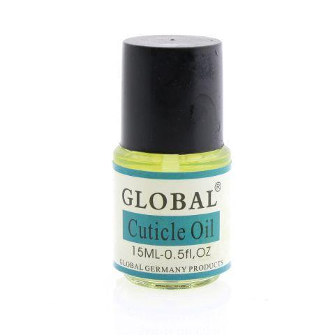 Масло для кутикулы GLOBAL,15 ml  (опт 6шт)