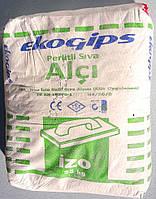Шпаклевка Изогипс Экогипс стартовая гипсовая 25 кг. Турция
