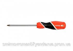 Отвертка крестовая YATO PZ2 х 100 мм