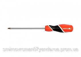 Отвертка крестовая YATO PZ2 х 150 мм