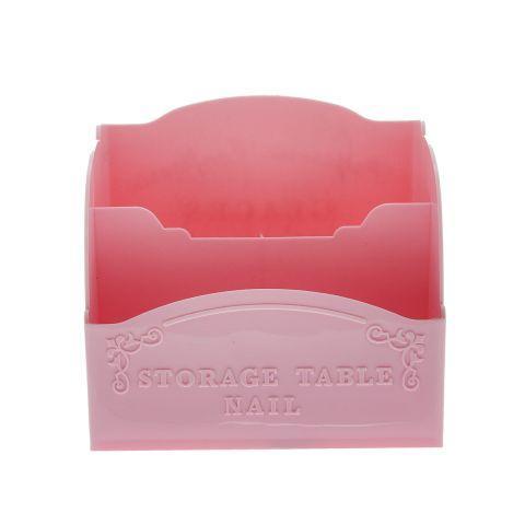Органайзер для кистей и пилочек,розовый
