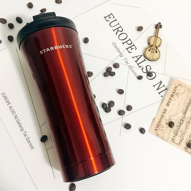 Термокружка 500 мл Starbucks Н-206. Термостакан Старбакс 500 ml с поилкой