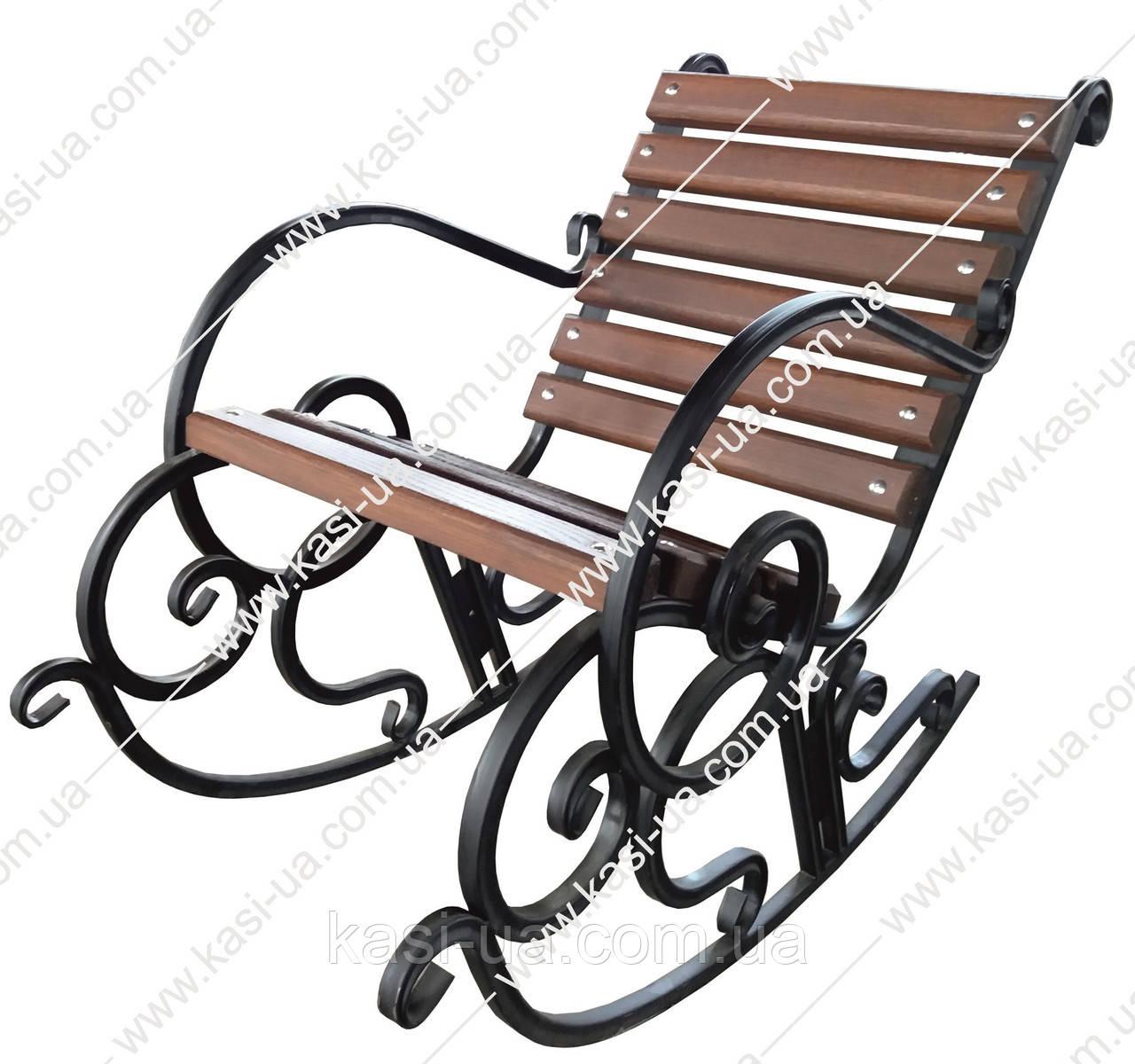 Кресло-качалка металическое №1