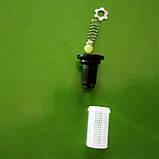 Фильтр клапан сеточка форсунки полевого опрыскивателя. 2 в 1. Для форсунки S1 Agroplast ., фото 3