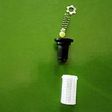 Фільтр клапан сіточка форсунки польового обприскувача. 2 в 1. Для форсунки S1 Agroplast ., фото 3