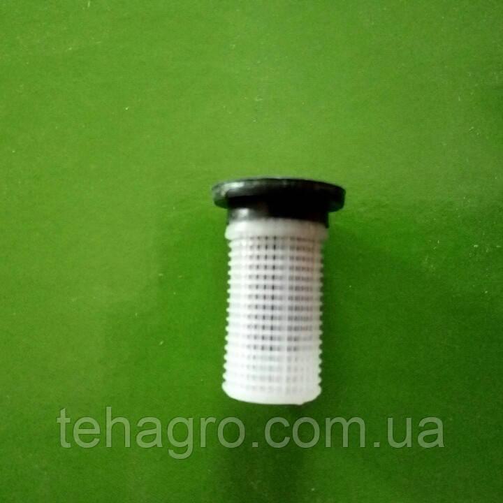Фільтр клапан сіточка форсунки польового обприскувача. 2 в 1. Для форсунки S1 Agroplast .