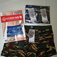 Трусы, боксерки, шорты Vericoh на тканевой резинке. Милитари, для настоящих мужчин, камуфляж, мужские подарки