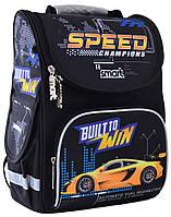 """Ранец ортопедический каркасный «1 Вересня Smart» PG-11 """"Speed Champions"""" 555991"""