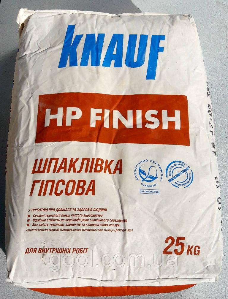 Шпаклевка Кнауф НР Финиш финишная гипсовая 25 кг.