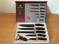 Набор модных кухонных ножей Swiss Family 6 шт. Швейцарская семья