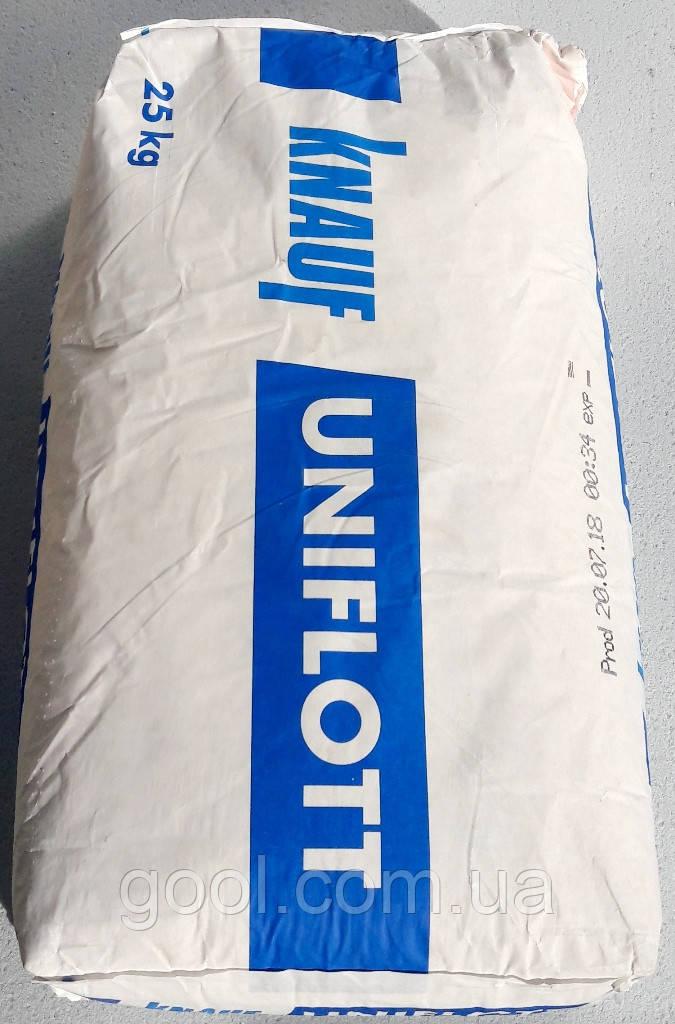 Шпаклевка Кнауф Унифлот финишная гипсовая для швов 25 кг.