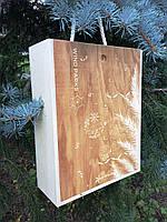 Ящики деревянные подарочные. Коробки из фанеры