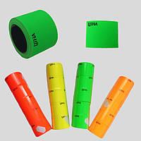 Лента -ценники цветные 30х40 (мм), в упаковке 5 шт.
