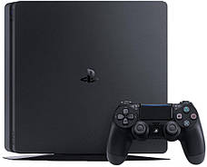 Ігрова консоль SONY PlayStation 4 Slim 1Tb Black (CUH-2208B) HZD+GTS+GOW+PSPlus 3М, фото 2