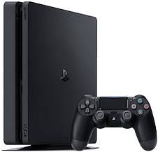 Ігрова консоль SONY PlayStation 4 Slim 1Tb Black (CUH-2208B) HZD+GTS+GOW+PSPlus 3М, фото 3