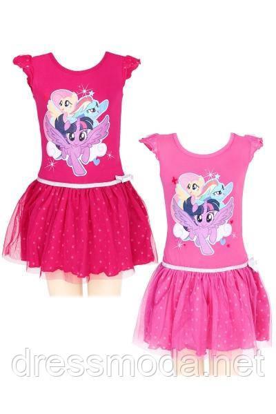 Платье для девочек My Little Pony от Disney 92-116 р.р.