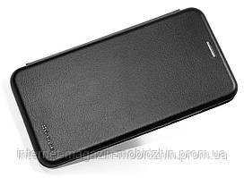 Фирменный чехол-книжка Huawei P Smart 2019 (51093FTA) черный G-Case Ranger Elite