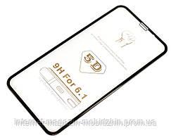 Защитное стекло 5D Айфон Apple Iphone XR / iPhone 11 Black