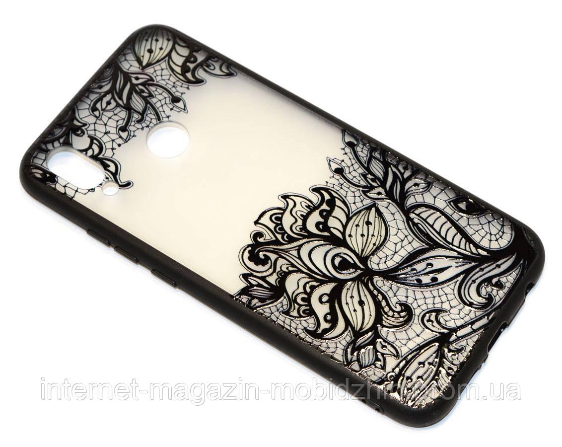 Чехол силиконовый Huawei P20 Lite Rock Tatoo Case