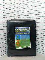 Агроволокно черное в упаковке 60г/м2  -  3.20м/10м. Для мульчирования почвы.
