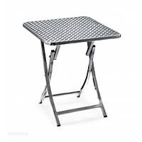 Стол алюминиевый складной 60 х 60 см ALT - 6030, фото 1