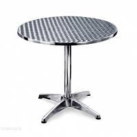 Стол алюминиевый круглый, диаметр 80 см ALT - 8010, фото 1