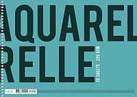 Альбом для акварели А4 20 листов спираль 220 г/м2 Muse Школярик, 212914