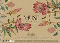 Альбом для малювання А4 30 аркушів спіраль 150 г/м2 Muse Школярик, 210262