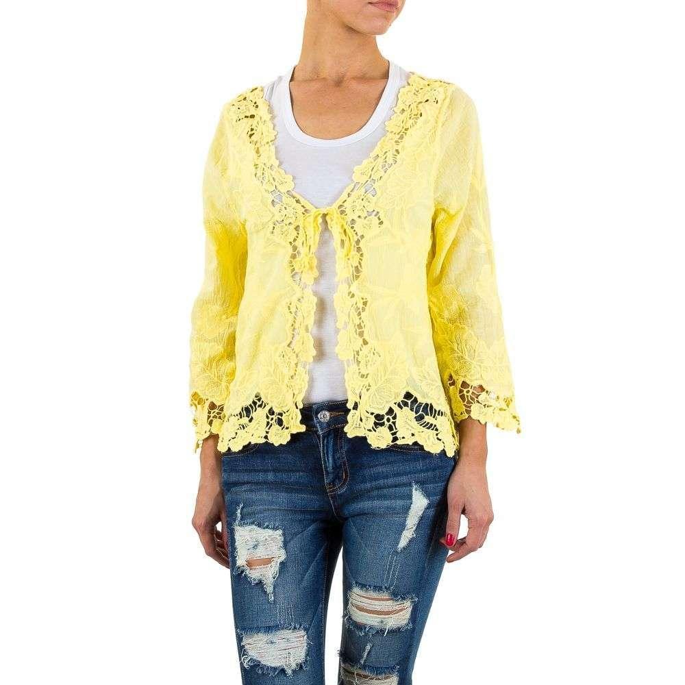 Женские блузки-от-So-Sweet-желтый - KL-CH102-yellow