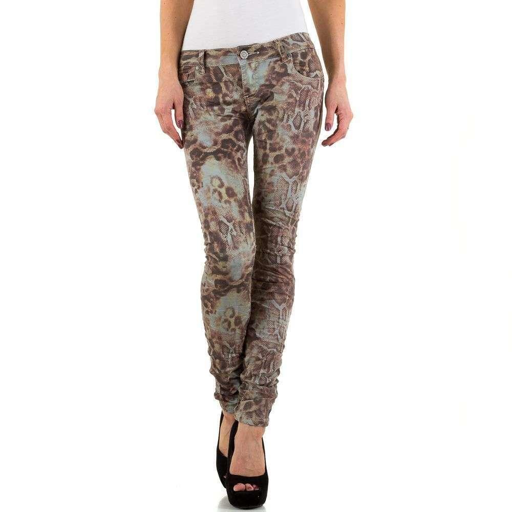 Женские джинсы - мульти - KL-J-C714-F-multi