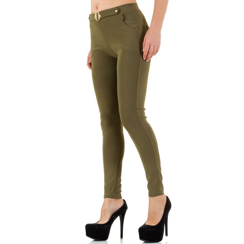 Женские брюки от Best Fashion - хаки - SS-BF67113-хаки