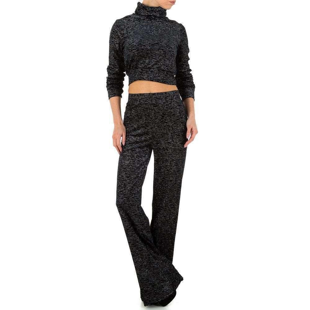 Женский костюм Emmash Paris - черный - KL-МУ-1055-black