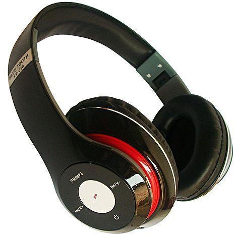 Наушники с микрофоном Beats YX-010 Bluetooth (Черный / Белый)