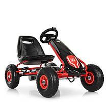 Дитяча педальная машина веломобіль Карт M 3856AL-2