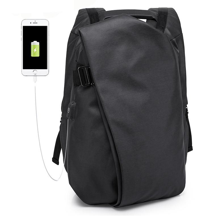 Модный городской рюкзак Kaka 17011, с USB портом и отделением для ноутбука, 22л