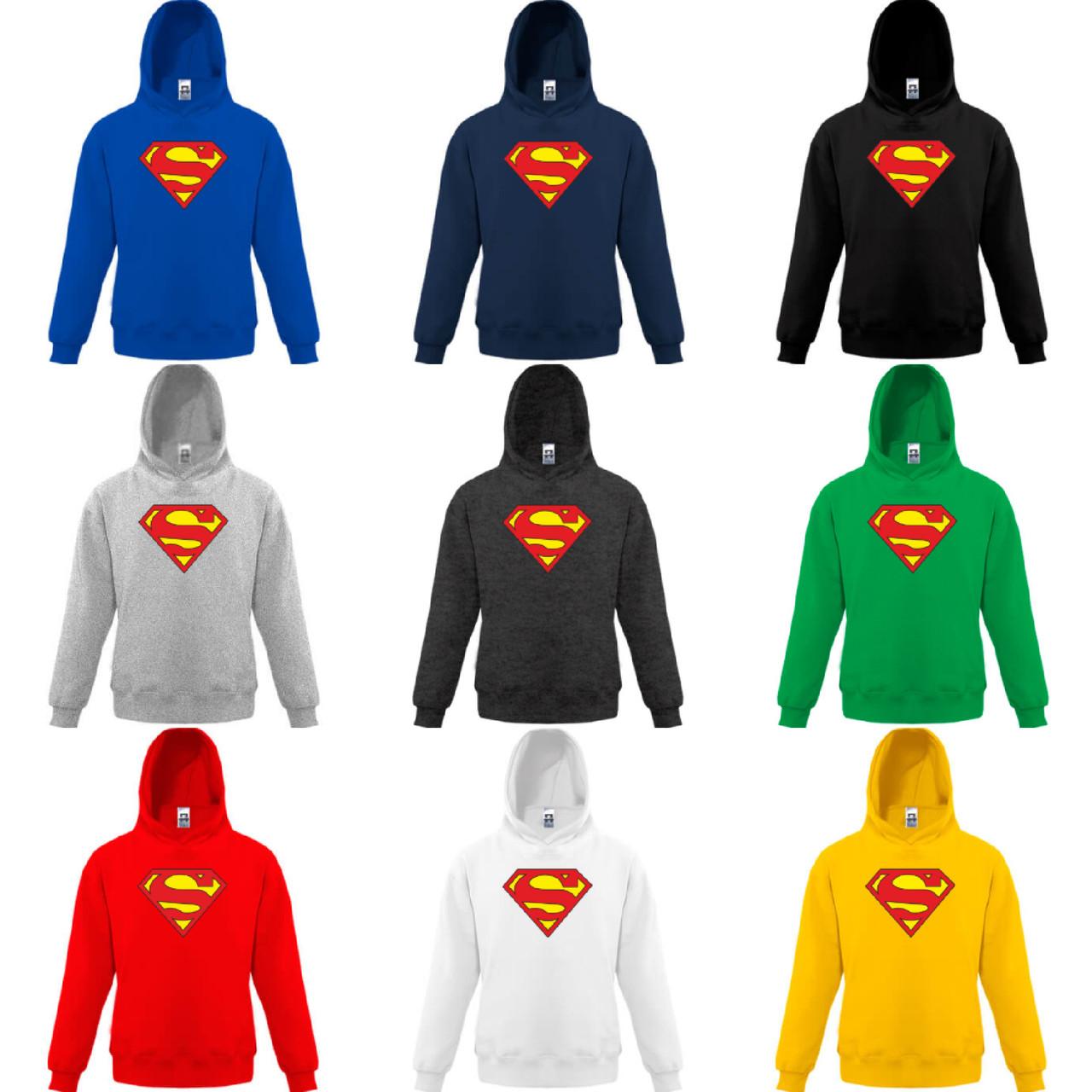Детская толстовка SUPERMAN 2