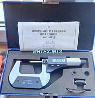 Микрометр гладкий  с цифровой индикацией IP54 ТИП МКЦ 25-50 0,001
