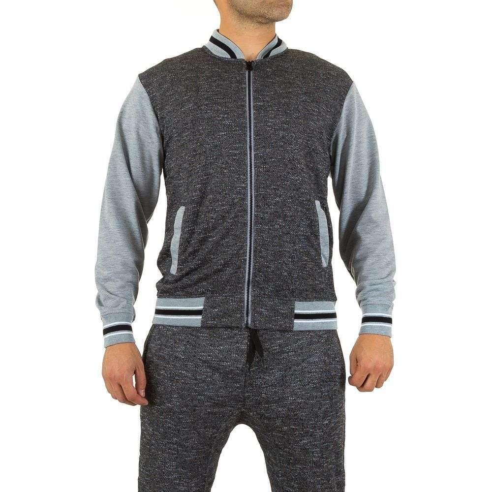 Толстовка мужская Original´S Wear (Европа), Черный/Серый