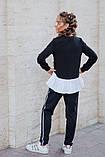 Школьный костюм свитшот+штаны школьная форма размер: 128, 134, 140, 146, фото 4