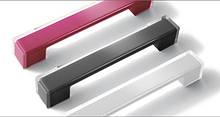 Ручка меблева 306 прозора/біла (РП-31/160-Б)