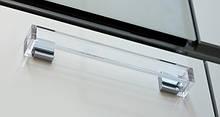 Ручка 037B напівпрозора/хром (РП-32/160-С)
