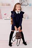 """Школьный сарафан для девочки """"Классика"""" школьная форма размер: 128, 134, 140, 146, 152, фото 4"""
