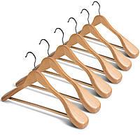 Плічка для одягу дерев'яні
