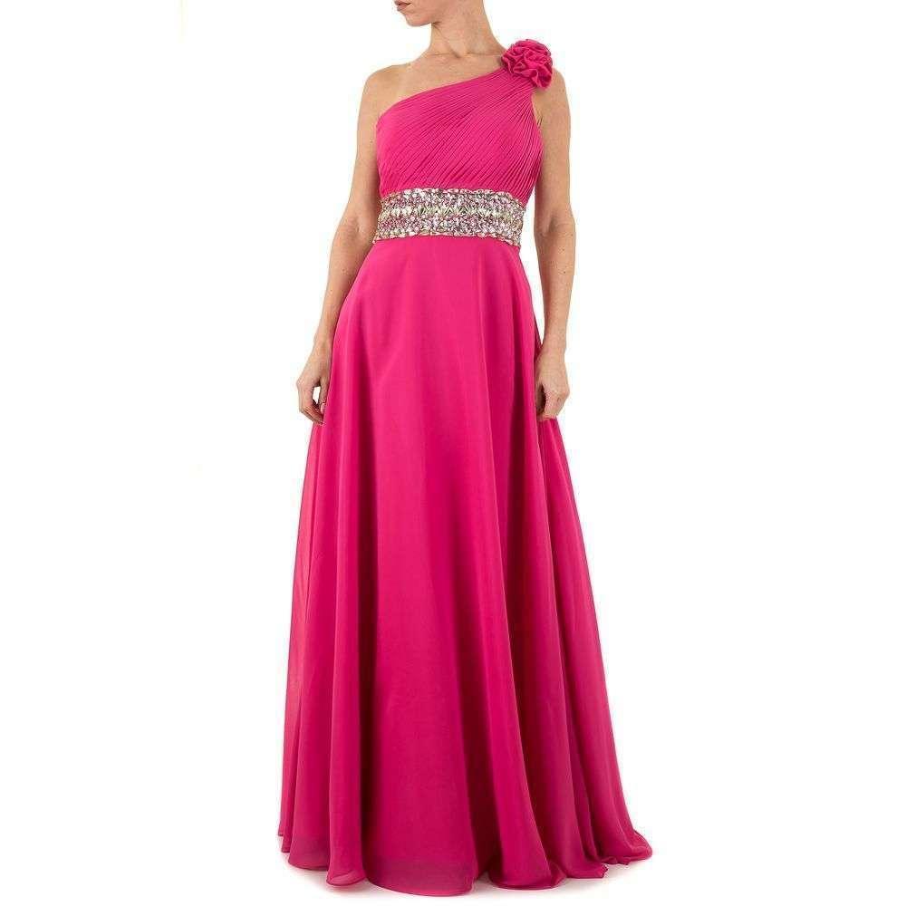 Женское платье из Festamo - розовый - Мкл-Праздник-10-pink