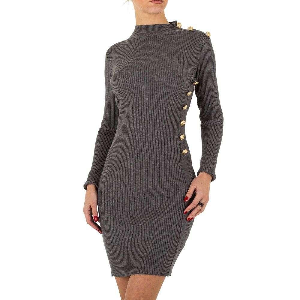 Женское платье из Shk Paris Gr. one size - D. grey - KL-K120-D. grey