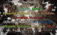 Поступление: HEREVIN, NOW, Powerful Progress, Scitec Nutrition, Dymatize, Monsters, Optimum Nutrition, R1 (Rule One), Ultimate Nutrition, Universal, VALE.
